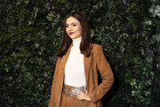 Victoria Justice attends the alice + olivia by Stacey Bendet Fall 2020 presentation at Highline Stages on February 10, 2020 in New York City.