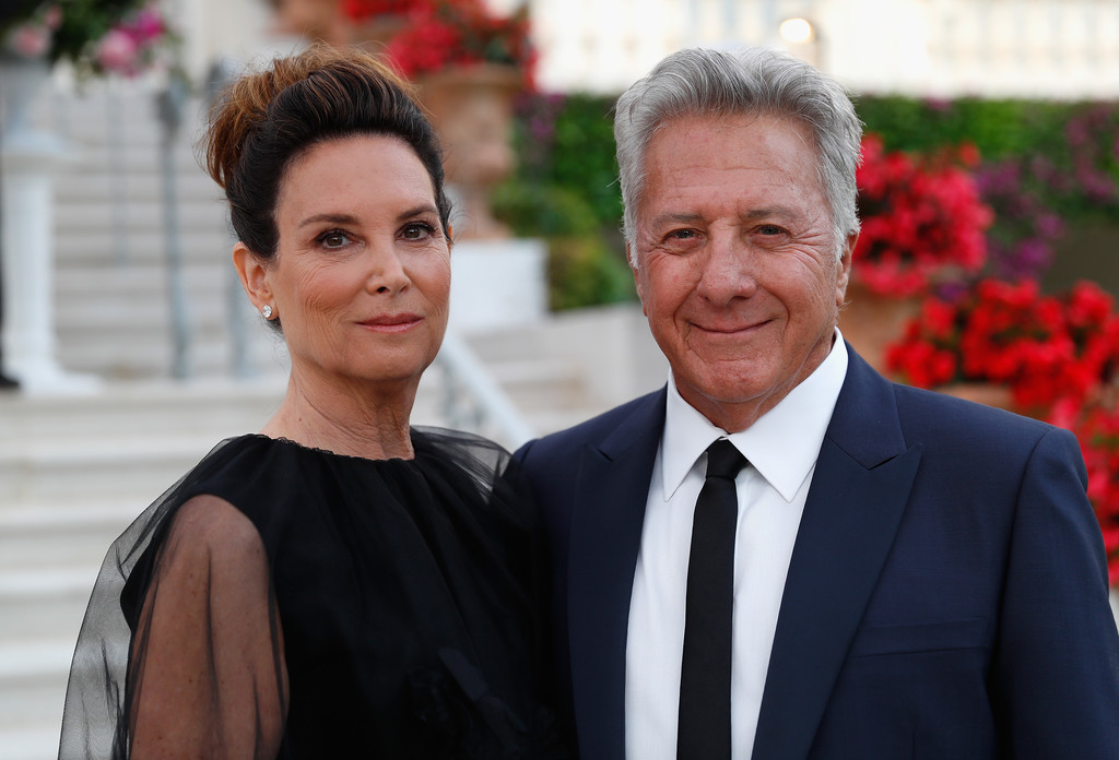 Lisa Hoffman with actor husband Dustin Hoffman