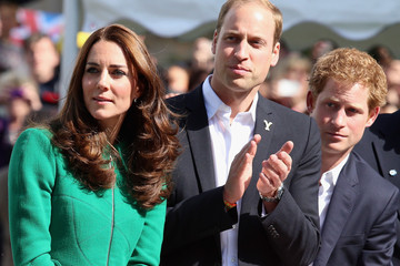 atherine The Duke & Duchess of Cambridge And Prince Harry Attend The Tour De France Grand Depart