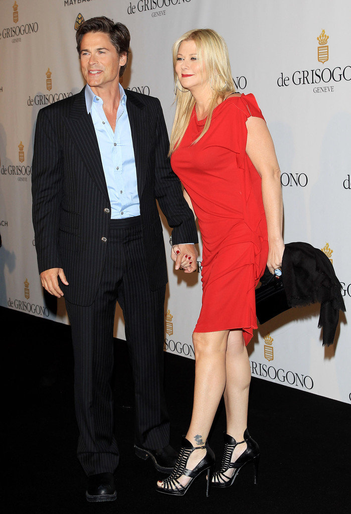 Rob Lowe and Sheryl Berkoff Photos Photos - de Grisogono Dinner Red Carpet Arrivals - 64th ...