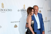 Singer Cheryl Cole and Fawaz Gruosi attend the de Grisogono party at the Hotel Du Cap on May 18, 2010 in Cap D'Antibes, France.