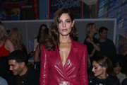 Ashley Greene attends the e1972 front row during New York Fashion Week on February 08, 2020 in New York City.