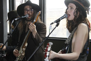 Sean Lennon and Charlotte Kemp Muhl perform with The Ghost of a Saber Tooth Tiger at Mal Verde for eBay Giving Works and Nylon Launch MusiCares Auction during SXSW 2014 on March 14, 2014 in Austin, Texas.