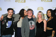 (R-L) Brad Stella, Sun, Lisa Smith, Mike Smith, Robert Sheehan and guests attend eOne Best of the Fest TIFF 2019 Celebration at Arcane on September 06, 2019 in Toronto, Canada.