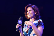 Candace Cameron-Bure speaks on stage during the iHeart80s Party 2017 at SAP Center on January 28, 2017 in San Jose, California.