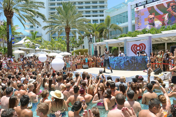 Jason derulo in iheartradio ultimate pool party presented for Ultimate pool show