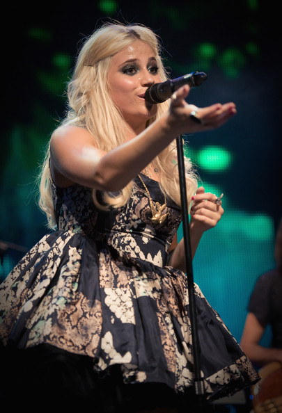 Pixie Lott performs as part of the iTunes Festival London at The Roundhouse on July 20, 2010 in London, England.