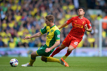 lPhilippe Coutinho Norwich City v Liverpool - Premier League