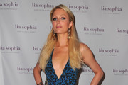 TV personality Paris Hilton arrives to the unveiling of lia sophia's latest jewelry creations at the Sunset Marquis Hotel on July 26, 2011 in West Hollywood, California.