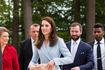 of Luxembourg The Duchess of Cambridge Visits Luxembourg