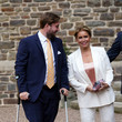 of Luxembourg Baptism Of Prince Charles Of Luxembourg At L'Abbaye St Maurice De Clervaux