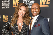 "Farrah Abraham and Dr. Ish Major attend WE tv Celebrates The 100th Episode Of The ""Marriage Boot Camp"" Reality Stars Franchise And The Premiere Of ""Marriage Boot Camp Family Edition"" at SkyBar at the Mondrian Los Angeles on October 10, 2019 in West Hollywood, California."