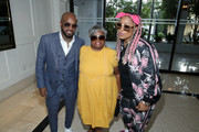 (L-R) Jermaine Dupri, Tina Mauldin and Da Brat attend WE tv 'Power, Influence & Hip Hop: The Remarkable Rise Of So So Def' celebration and Season 3 of 'Growing Up Hip Hop Atlanta' at The London West Hollywood on July 16, 2019 in West Hollywood, California.