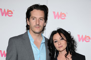 """TV personality Kurt Iswarienko and actress Shannen Doherty arrive at WE tv's """"Family Affair"""" 2012 Winter TCA event at Langham Hotel on January 13, 2012 in Pasadena, California."""