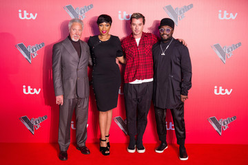will.i.am 'The Voice' UK - Press Launch - Red Carpet