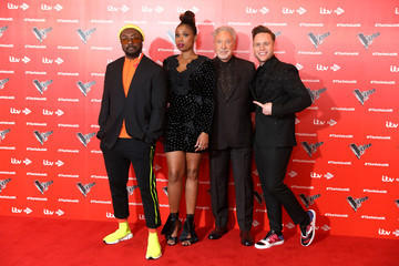 will.i.am Olly Murs 'The Voice' UK 2019 - Photocall