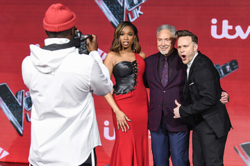 will.i.am Olly Murs 'The Voice UK' Final 2019 - Photocall
