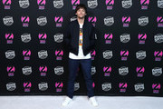 Louis Tomlinson attends the z100 All Access Lounge presented by Poland Spring Pre-Show at Pier 36 on December 13, 2019 in New York City.
