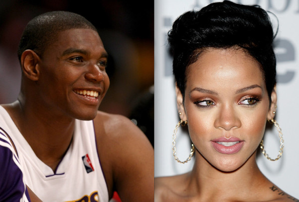 Is andrew bynum dating rihanna