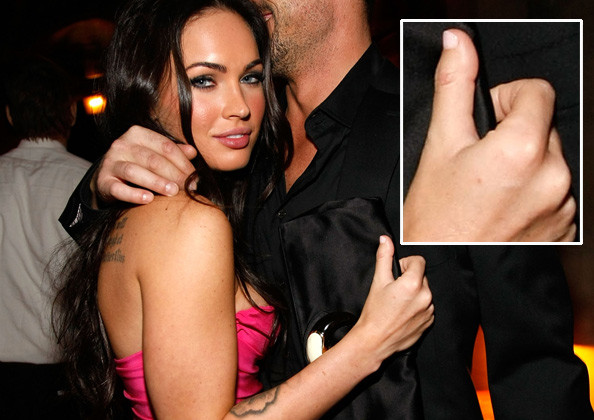 The roaming gaze of the Internet usually looks with approval upon Megan Fox,