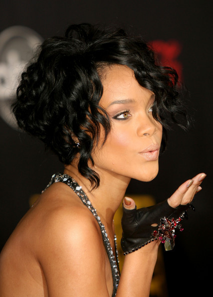 Rihanna's Versatile Stacked Bob Haircut
