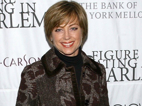 "Dorothy Hamill attends a ""Skating with the Stars"" event on March 31, 2008."