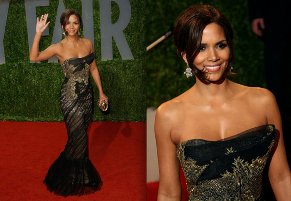 Halle Berry Gowns pic