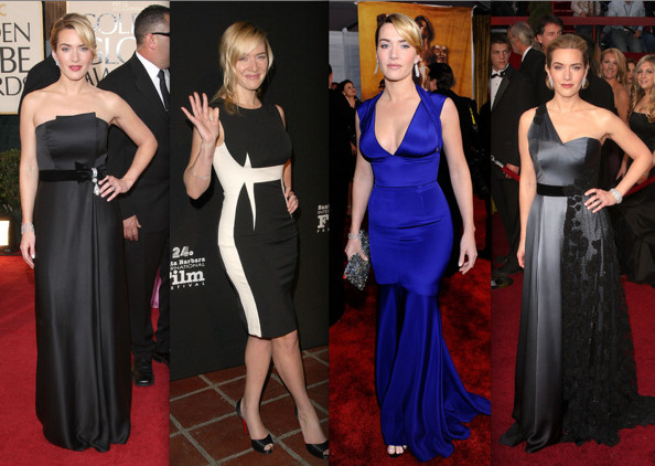 kate winslet dressess. Kate Winslet took this awards