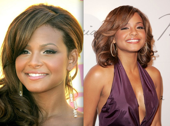 Christina Milian Prom Hairstyle Ideas 2009 - Celebrity Prom Hairstyles -