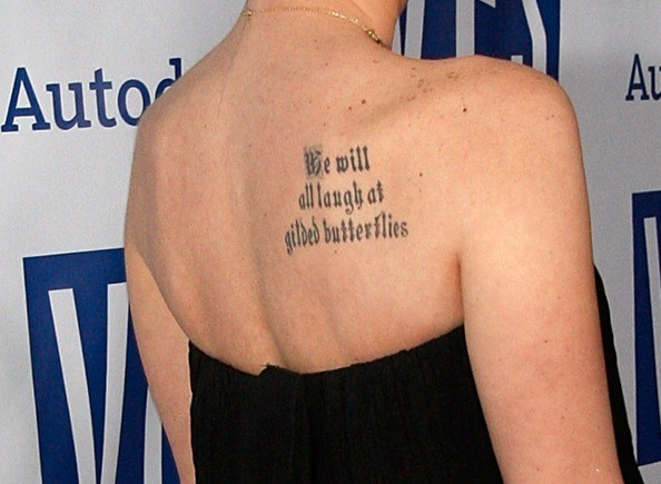 script writing tattoos. 2010 top tattoo quotes ideas