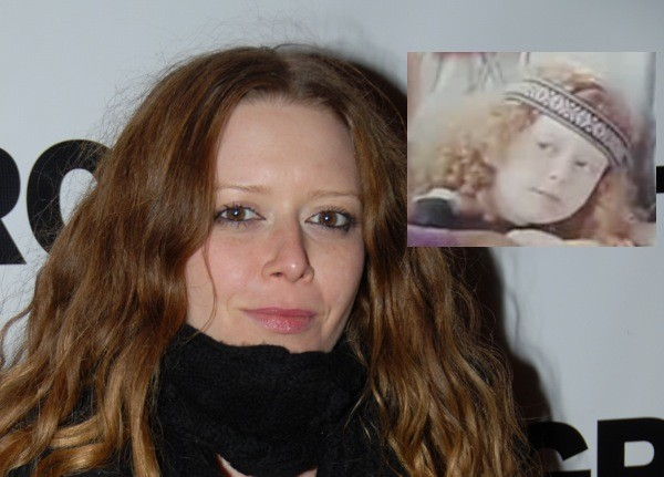 Natasha Lyonne as a child