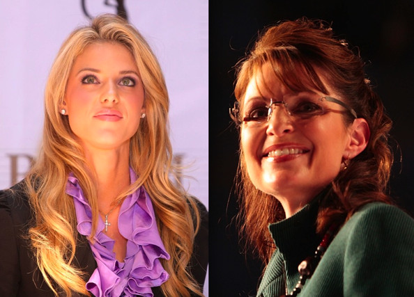 palin carrie prejean and Sarah
