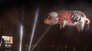 Roger Waters Looses Flying Pig