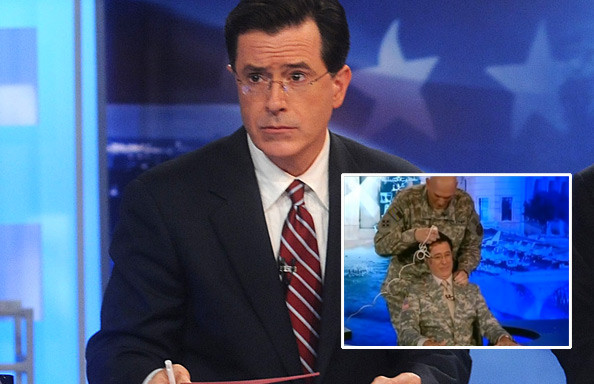 Colbert S Shaved Head 90