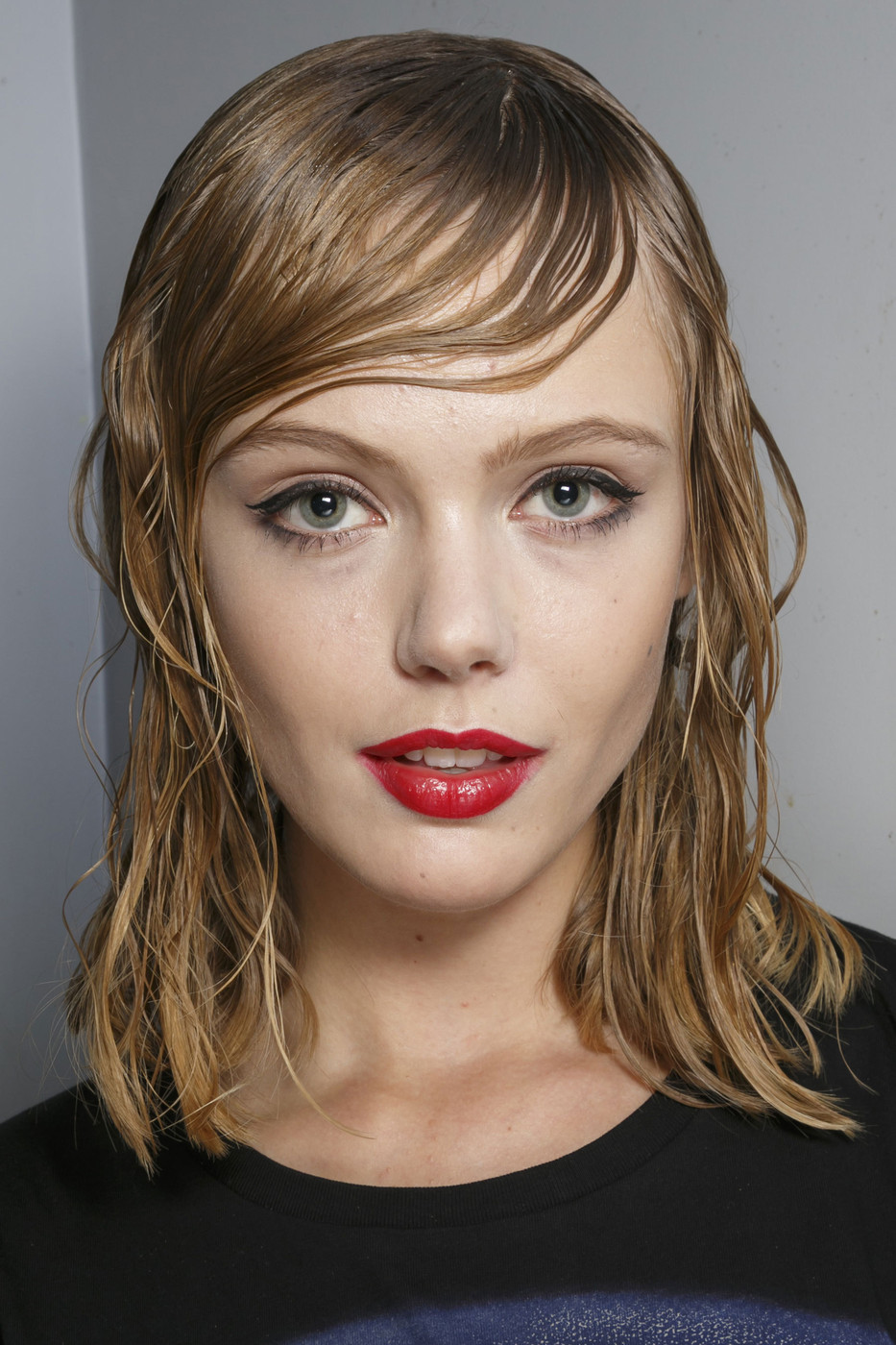 hair trend from fashion month super soaked strands hair trend