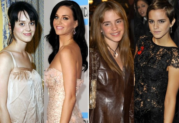 People's Choice Awards Nominees Then and Now