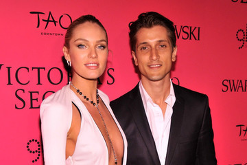 Victoria's Secret Model Candice Swanepoel Welcomes First Child With Fiancé Hermann Nicoli