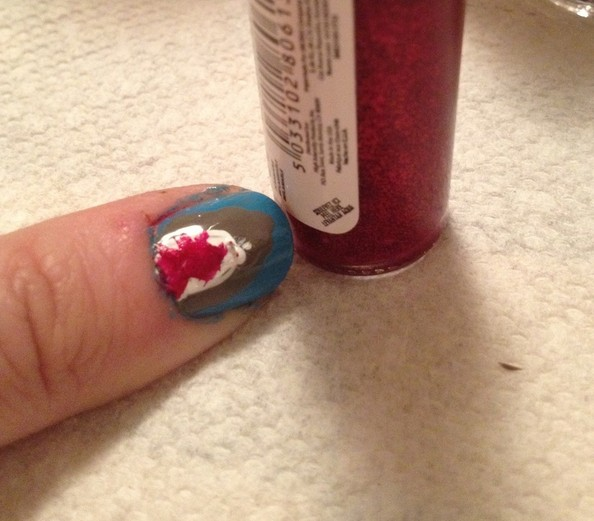 DIY Idea: Shark Week Nail Art