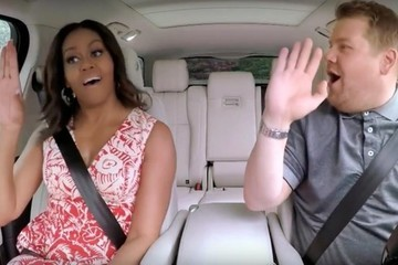 Michelle Obama's Carpool Karaoke with James Corden Is the Ride of Our Dreams