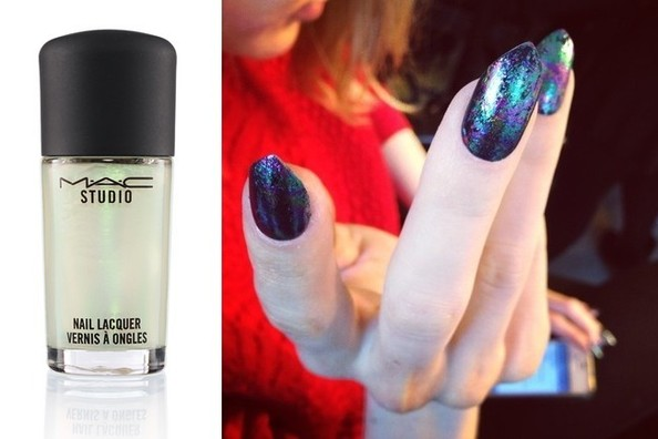 Spotted in the Nail World: Oil-Slick Polishes