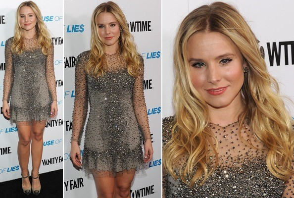 Look of the Day: Kristen Bell's Glitzy Style