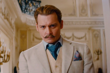Johnny Depp's 'Mortdecai' Trailer Is Really an Ode to Sweet, Sweet Mustaches