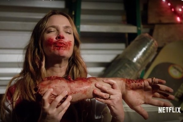 Drew Barrymore Feasts on Annoying Humans in 'Santa Clarita Diet'