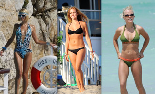 Celebrity Bikini Battle - Blonde Reality Stars