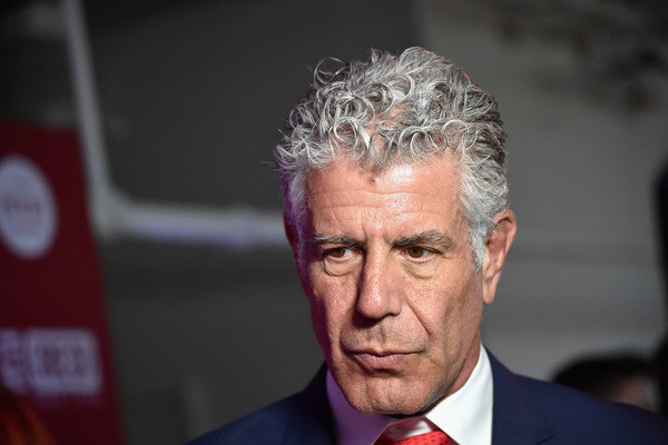 Anthony Bourdain Book Is No.1 On Amazon