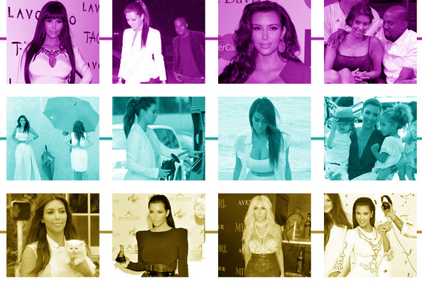 Looking Back at Kim Kardashian's 2012