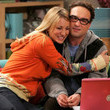 Leonard and Penny from 'The Big Bang Theory'