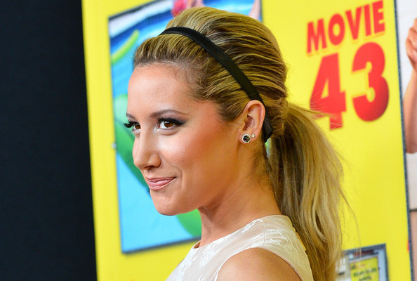 Ashley Tisdale's 3 Easy Tricks to a Red Carpet-Worthy Ponytail