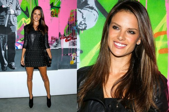 Look of the Day: Alessandra Ambrosio's Downtown Chic