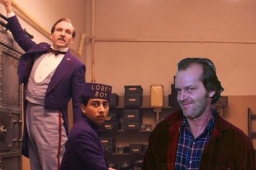 'The Grand Budapest Hotel' and 'The Shining' Go Together Better Than You Think